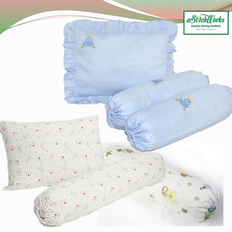 Basic Sewing Baby Pillow & Bolster Cover