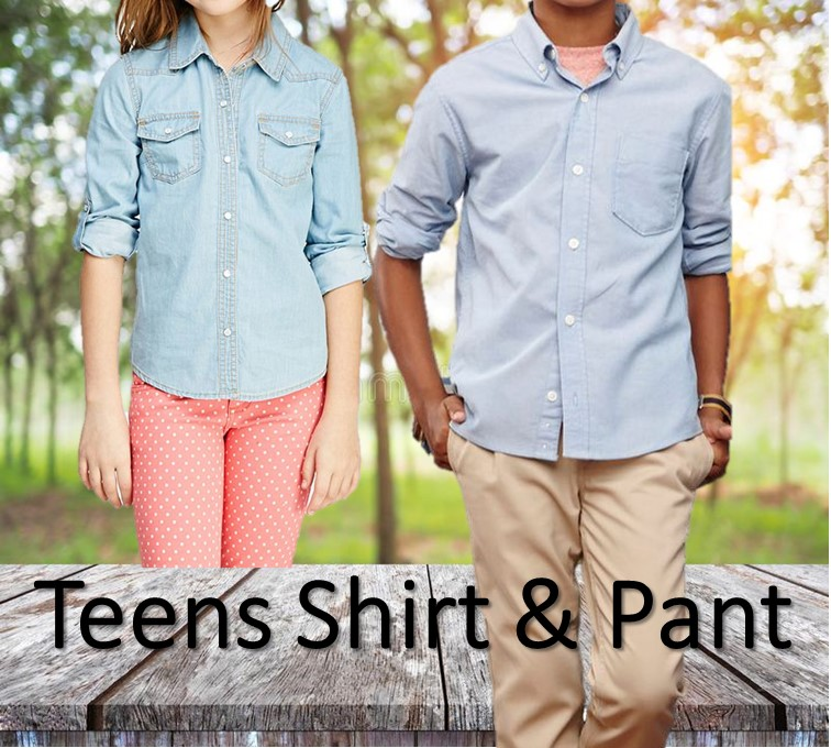 Basic Teen Shirt & Pant