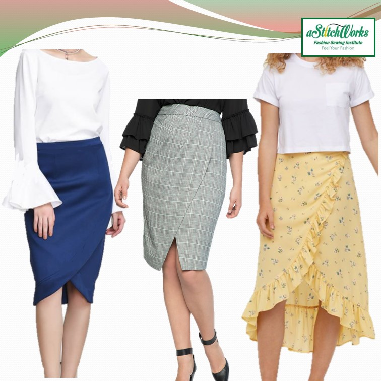 Sew Basic Modern Flared Blouse & Tulip Skirt